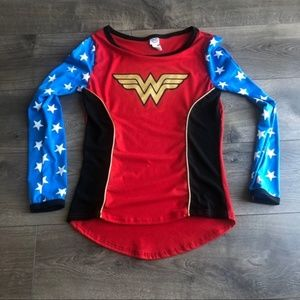 Wonder Woman Long Sleeve Shirt Halloween